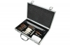 NcStar Universal Cleaning Kit for Most Rifles, Pistols, and Shotguns, in Metal Carry Case.
