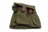 Military Surplus Mag Pouch for AK 30rd Mags, 3 Pocket, Green Cloth, Used.