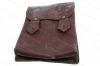 Military Surplus Mag Pouch for AK 30rd Mags, 4 Pocket, Leather, Used.
