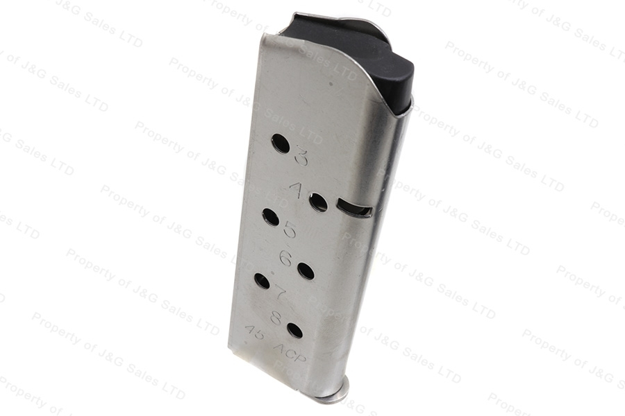 ASC 1911 45ACP 8rd Magazine, Stainless Steel, New.