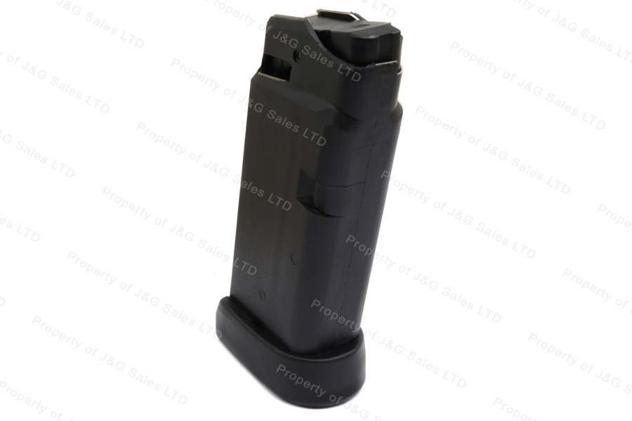 Glock 36 45ACP 6rd Factory Magazine, Black, New.