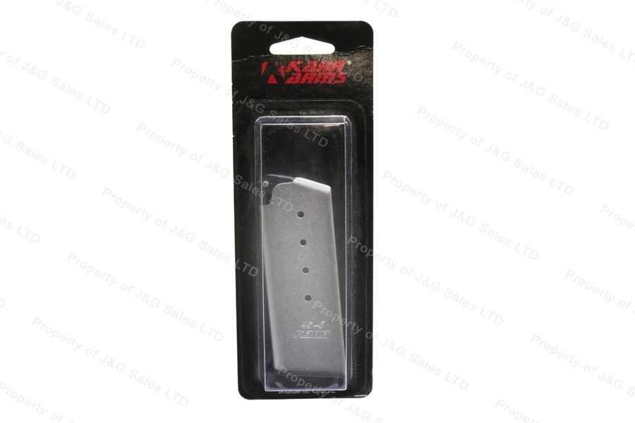 Kahr 5rd 45ACP Stainless Steel Magazine. New.