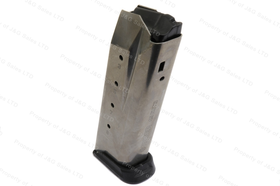 Ruger® Magazine, American Pistol, 9mm, 17 Round, Stainless Steel, Factory Magazine, New.