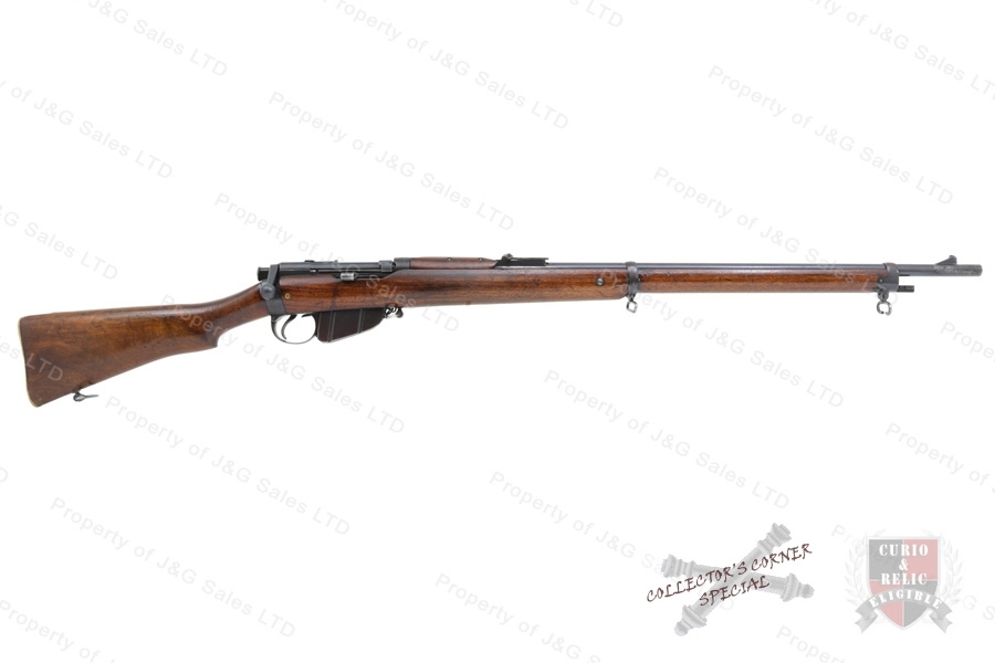 Lee -Speed Enfield Bolt Action Rifle, 303 British, BSA Co Mfg, Good to VG, C&R, Used.