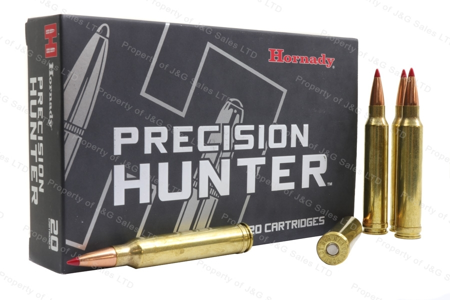 300 Win Mag Hornady Precision Hunter 200gr ELD-X Ammo, 20rd Box.
